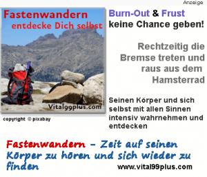 Fastenwandern in Südtirol und Österreich